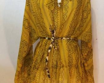 Fun print dress