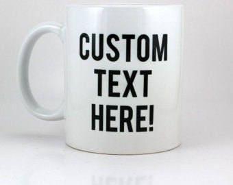 15 oz Custom Coffee Mugs