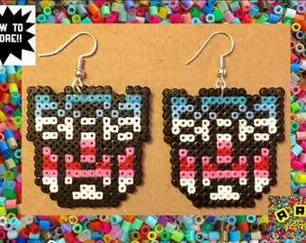 Transformers Autobot Logo Hama Earrings