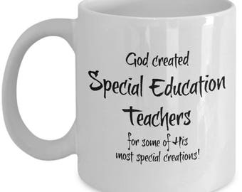 Special Education Teacher Gifts - Special Ed Teacher Appreciation Gift - Men Women - Best Gift for Retired Teachers or End of Year Gift Cup