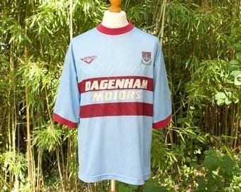PONY X WEST HAM Away Football Shirt 1993/95  Size - Medium