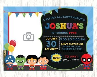 Superhero Invitation, Superhero Birthday Invitation, Superheroes Birthday, Comic Birthday Party, Superhero, Editable