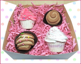 Spa Gift Set, Cupcake Bath Bomb, Truffle Bath Melt, Birthday Cake, Bath Bomb Gift Set, Bath Bomb, Bath Gift Set, Spa Set, Bath Bomb Cupcake