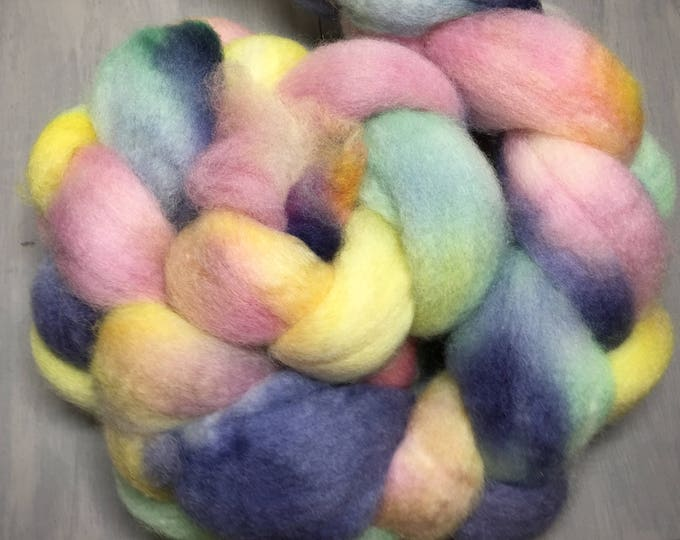 Lullaby - Hand Dyed BFL Wool Top Spinning Fiber