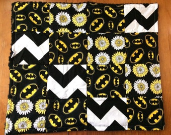Batman Lovie Mini Blanket Tag Along Girly