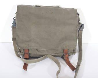 Vintage messenger bag | Etsy