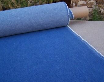 CANVAS DENIM 100% cotton blue width 140cm