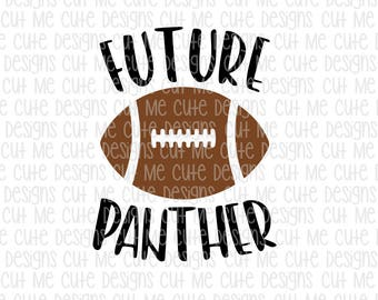SVG DXF PNG cut file cricut silhouette cameo scrap booking Future Panther Football Player