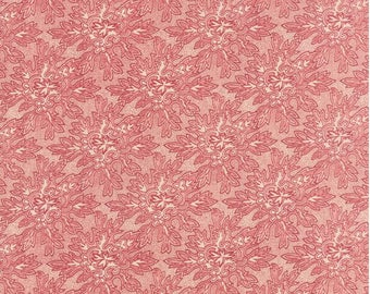 Under the Mistletoe Linen Red by 3 Sisters for Moda - # 44075-22