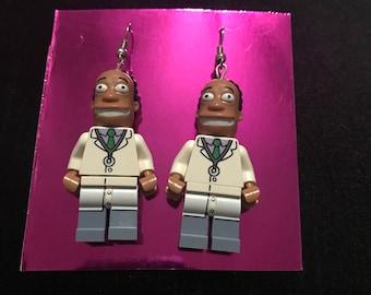 Dr. Hibit lego earrings