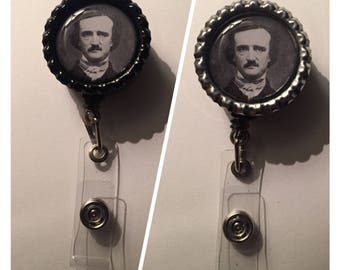 Edgar Allan Poe Badge Reel