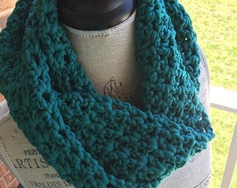 The Belle Cowl in Teal
