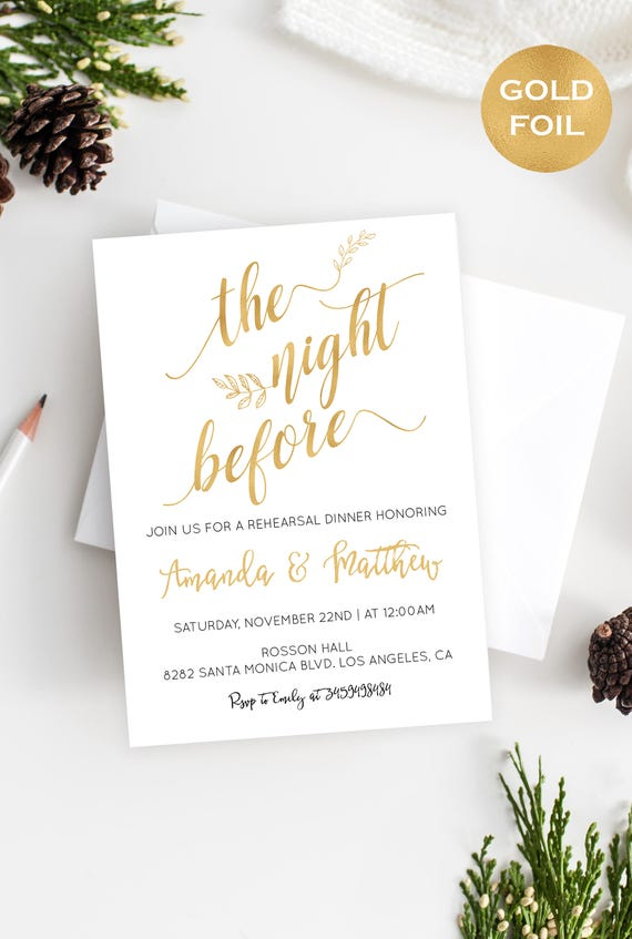 Modern Wedding Invitation Printable