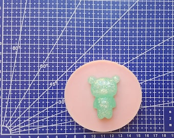 Flexible silicone mold Rilakkuma!