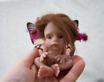 OOAK Butterfly Fairy Girl by Malga