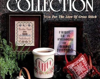 Brother Noah built the Ark Counted Cross Stitch - Music is a Rainbow of Sound - Coffee - Contest Collection - Leisure Arts - Love of Cross