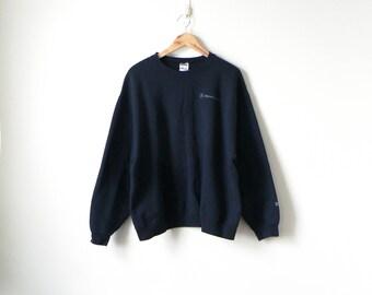 90s Mercedes-Benz Sweatshirt - 90s Sweatshirt - Vintage Sweatshirt - Car Sweatshirt Mercedes Benz Logo Sweatshirt - 90s Clothing - Men's XL
