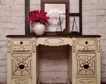 Vintage desk or vanity