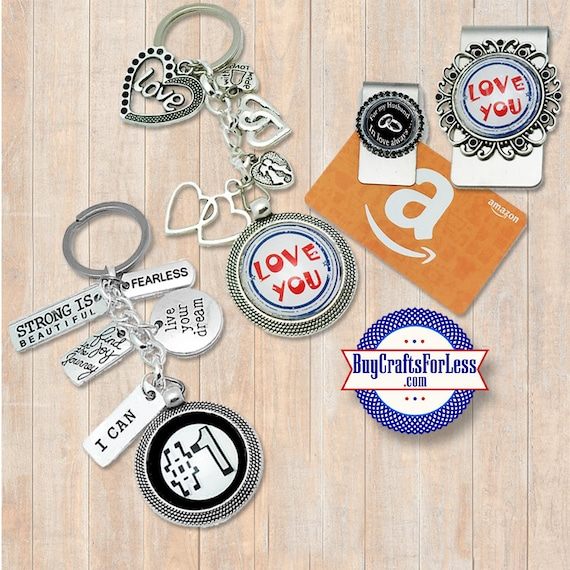 Dad GIFT, Mom GiFT, For Husband, Love Gift- Key Ring, Money / Gift Card Clip-FREE GIFT BoX +Discounts & Free Shipping*