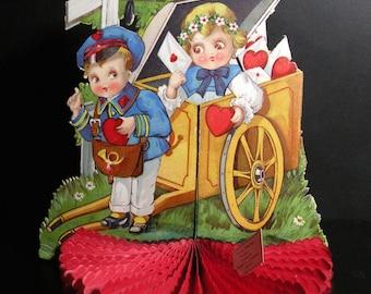 Love Gone Postal Fold-Out Valentine Card