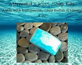 Shea Butter Soap Bar; Honey Soap Bar; Soap Bar; Buttermilk Soap Bar; Skin Care Bar 4 oz
