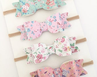 Floral headband | Floral hair bow | Hair Bows | Headband Set