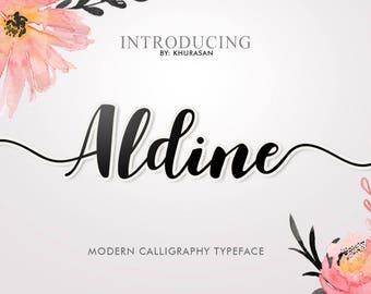 Aldine Script Typeface