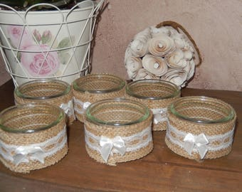 candles retro country chic