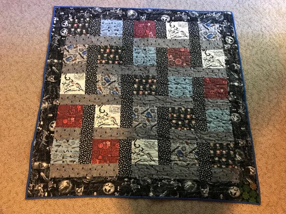 Handmade Supernatural Throw Quilt