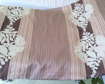 Fabric drapes taupe Brown