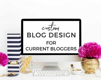 Custom WordPress Blog Design - Current Bloggers (Blog Redesign)