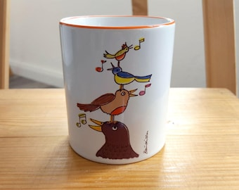 Cup birdsong