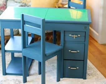 Kids Convertible Craft Table / Desk
