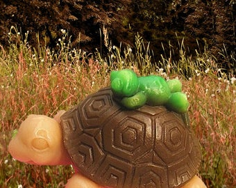 Turtle Soap-Frog Soap-Turtle and Frog Party-Reptile Soap-Kids Soap-Fun Soap