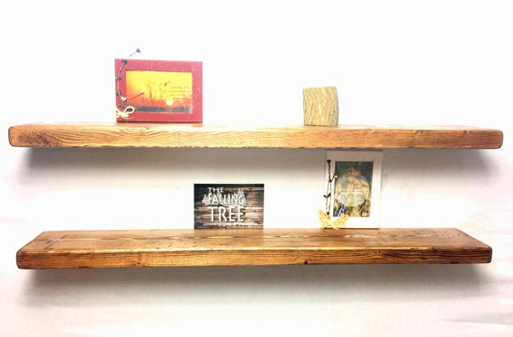 Floating Shelf Set Of Two 2 36 Inch Kitchen Shelves