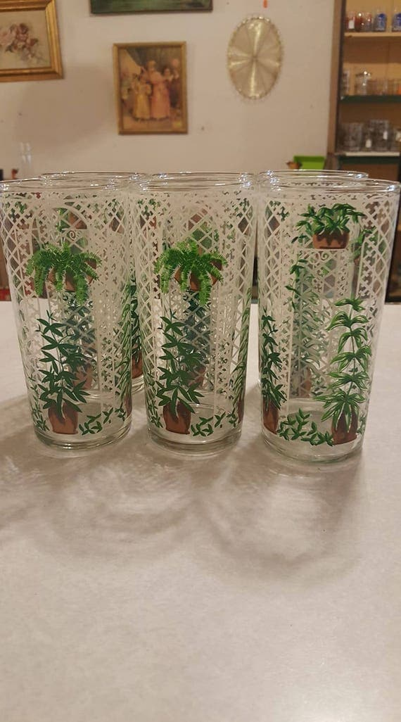 Set of six cera trallis tumblers like this item gumiabroncs Gallery