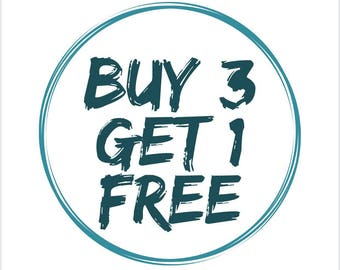 Buy 3 get 1 free, Purchase any three Turkish towel and get a fourth for FREE!