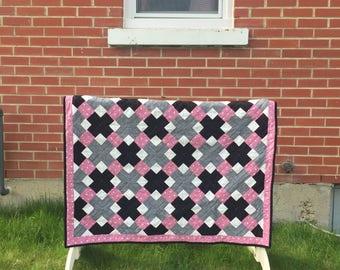 KrisKross lap quilt