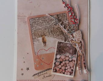 Card - Greeting card - happy new year