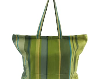 XXL Strandtasche Badetasche Einkaufstasche Shopper, Fair Trade,Handarbeit #BB294
