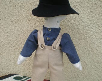 Amish doll man, Amish doll- no face