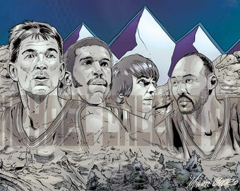Utah Jazz ( John Stockton , Adrian Dantley , Pistol Pete Maravich , Karl Malone )