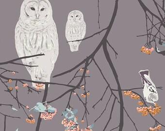 Bird Songs Moon in VOILE by Art Gallery Fabrics x 50cm