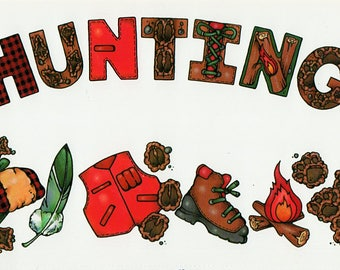 Hunting Title Over-alls Page Topper 6x12 Title Scrapbooking Scrapbooks Ek Success Embellishments Cardmaking Crafts