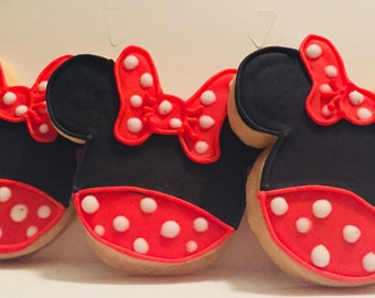 Minnie Mouse Cookies