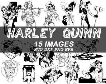 Harley Quinn Etsy Studio