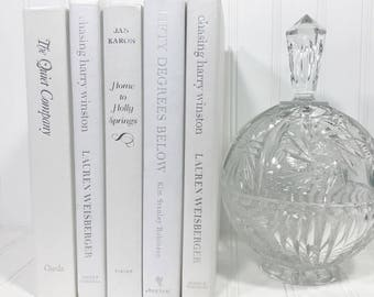 White Decorative Book Set