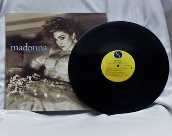 Like a Virgin by Madonna ~ LP Vinyl Record ~ Vintage Album