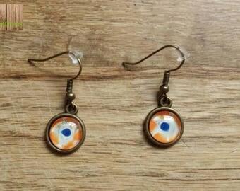 Point earrings