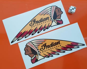 Indian Motorcycle Stickers